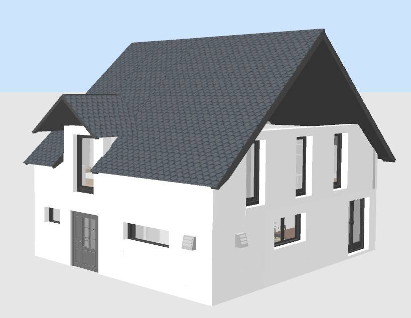 Modell in SweetHome 3D